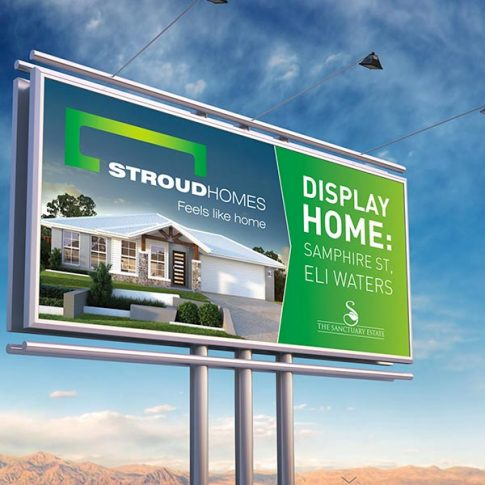 Stroud Home Billboard Design
