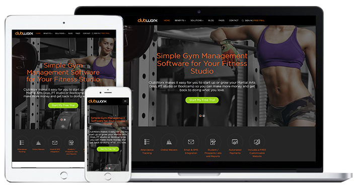clubworx gym | professional web design brisbane