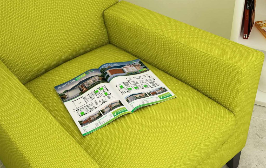 Stroud Homes Catalogue Design