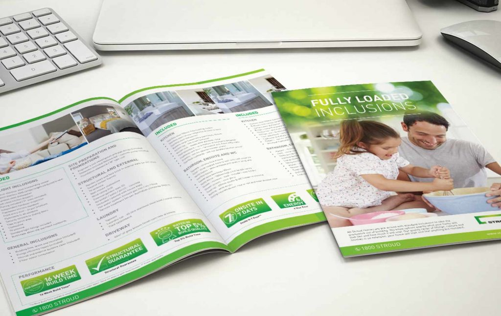 Stroud Home Inclusion Booklet Design