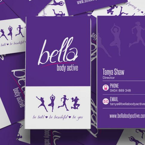 Bella Body Active Business Card Design