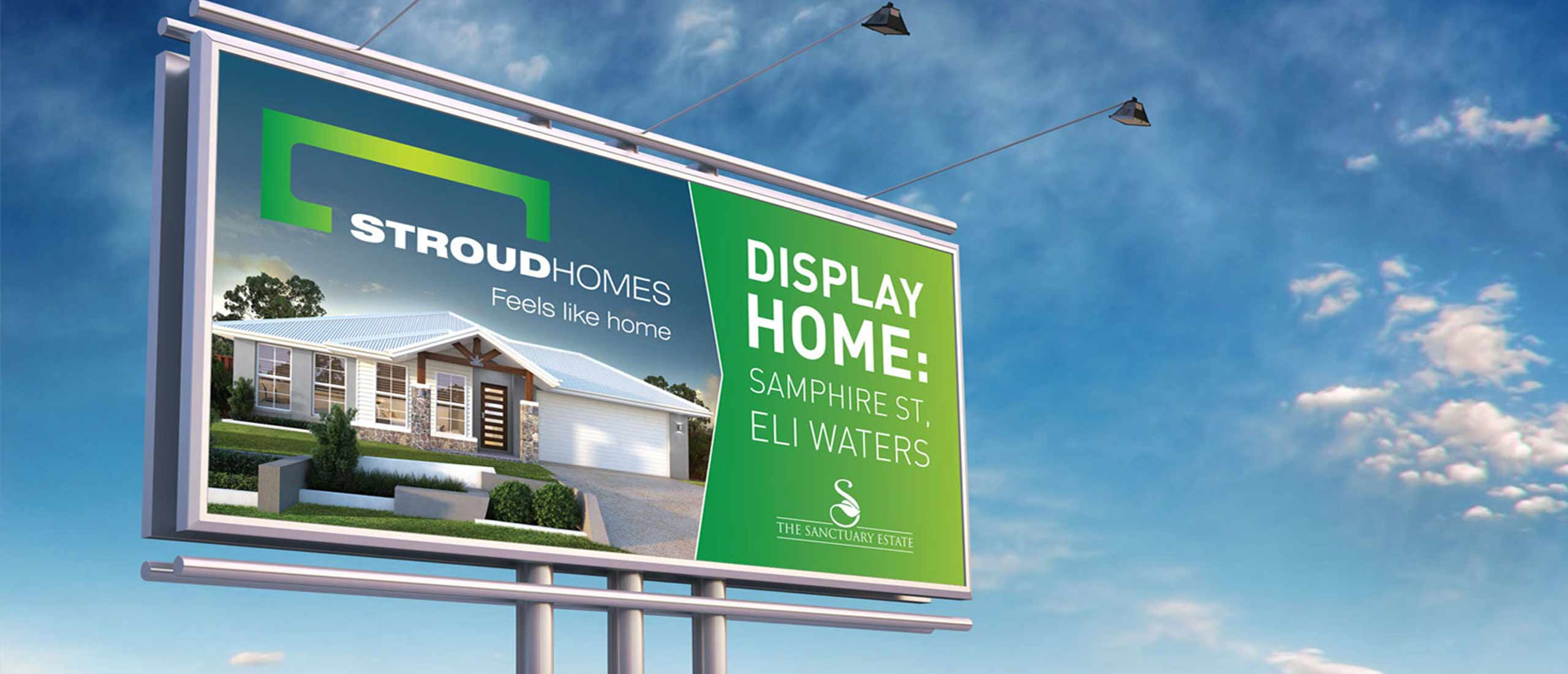 Stroud Homes Billboard Design