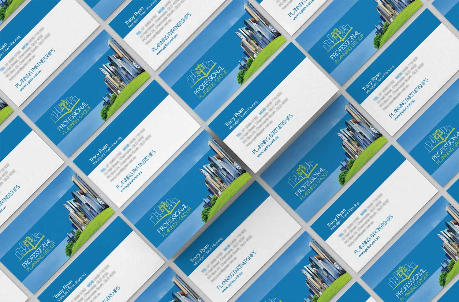 professional business cards designed by graphic designer brisbane