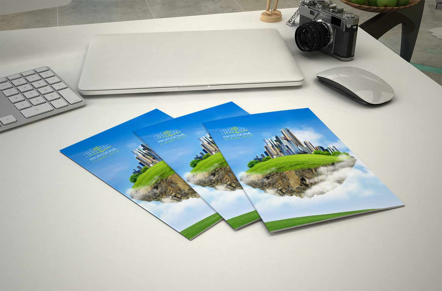 professional planning folders by graphic design brisbane studio