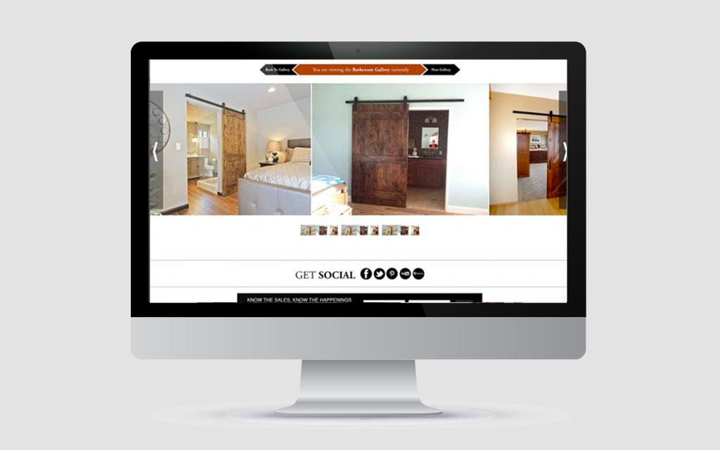 website displayed on imac designed by professional web design brisbane company