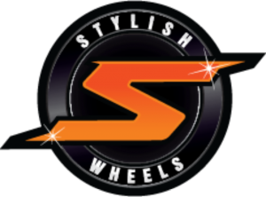 Stylish Wheels Logo Design Brisbane