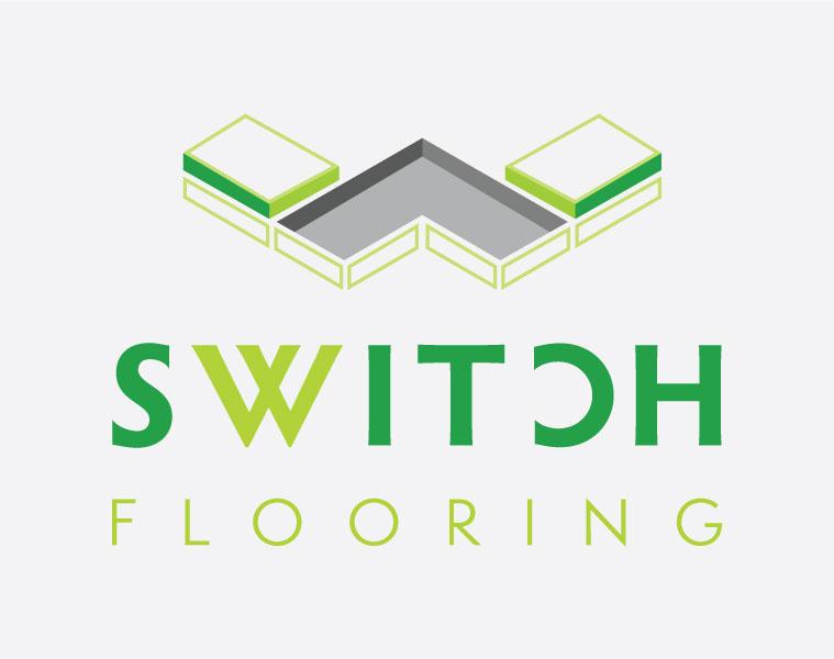 switch flooring logo design brisbane